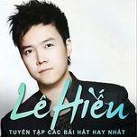 album le hieu 2015 hay nhat - le hieu