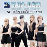mua dem - nguyen khoi, piano band