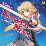 never say never (single) - afilia saga east