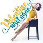 valentine ngot ngao (single) - lan trinh