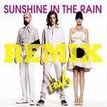 sunshine in the rain remix (single) - bwo