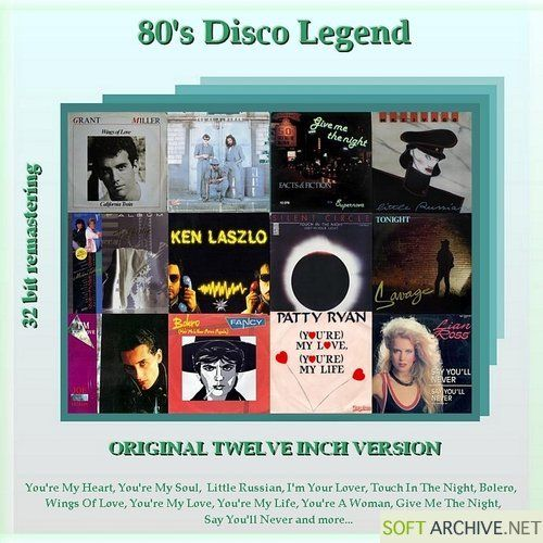 Nhạc Disco hay - 80's Disco Legend