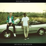 can't hold us (single) - macklemore, ryan lewis
