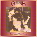 yesterday once more cd1/2 (1984,1998) - the carpenters