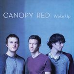 wake up - canopy red