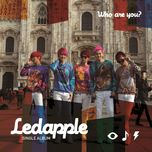who are you? (single) - ledapple