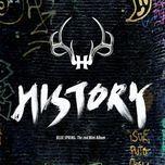 blue spring (mini album) - history