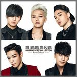 bigbang best collection (korea edition) - bigbang