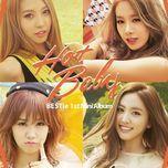 hot baby (mini album) - bestie