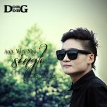 anh van nho (single) - dong dong