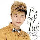 le roi (single) - khanh phong