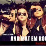 anh mat em that roi (2011) - manh bin