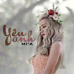 yeu anh (single) - mia