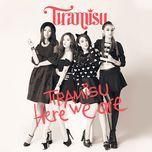 here we are (single) - tiramisu