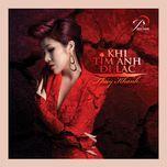 khi tim anh di lac (single 2012) - thuy khanh