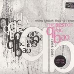 nhung khoanh khac toi chon (the best of quoc bao 1998) - quoc bao