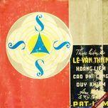 bang nhac sieu am 1 (truoc 1975) - v.a