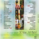 30 nam... ve thoi (cd 1) - pham duy