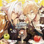 amnesia world character cd luka & nova - yoshimasa hosoya, natsuki hanae