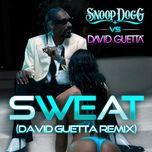 sweat / wet (single) - snoop dogg, david guetta