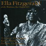 at the montreux jazz festival 1975 - ella fitzgerald