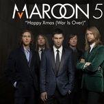 happy christmas (war is over) (single) - maroon 5