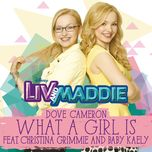 what a girl is (from liv & maddie) (single) - dove cameron