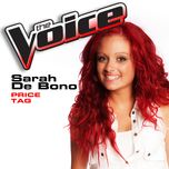 price tag (the voice performance) (single) - sarah de bono
