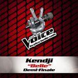 belle - the voice 3 (single) - kendji girac