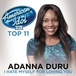 i hate myself for loving you (single) - adanna duru