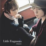 little fragments (single) - clear, nero