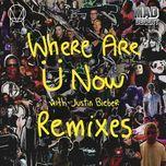 where are u now (remixes ep) - jack u, skrillex, diplo, justin bieber