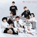 for you (japanese single) - bts (bangtan boys)