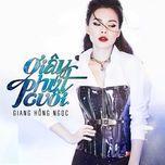 giay phut cuoi (single) - giang hong ngoc