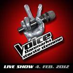 voice - live show 4. feb. 2012 - v.a