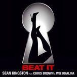 beat it (single) - sean kingston, chris brown, wiz khalifa