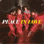 in love - peace