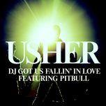dj got us fallin' in love - usher, pitbull