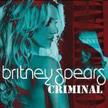 criminal (single) - britney spears