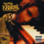 you don't know me (single) - ben folds, regina spektor