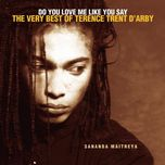 do you love me like you say: the very best of terence trent d'arby - terence trent d'arby