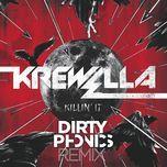 killin' it (single) - krewella