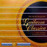 the hi-fi sound of guitarra classica - sergi vicente, antonio de lucena