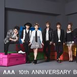 aaa 10th anniversary best (cd1) - aaa