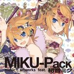 miku-pack 15 song collection moon fantasy - hatsune miku, kagamine rin