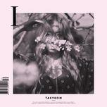 i (mini album) - tae yeon (snsd)