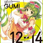 vocaloid masterpiece collections (gumi 12-14) - gumi
