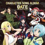 gate: jieitai kanochi nite, kaku tatakaeri character song album - v.a