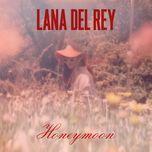 honeymoon (single) - lana del rey