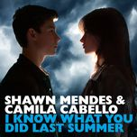 i know what you did last summer (single)  - shawn mendes, camila cabello